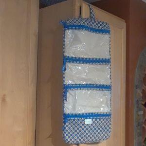 Vera Bradley Floral Hanging Organizer Travel Bag